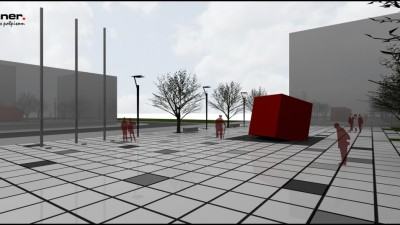 Jug 2 Square and memorial