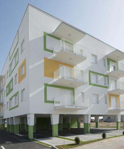 A+ Apartment building