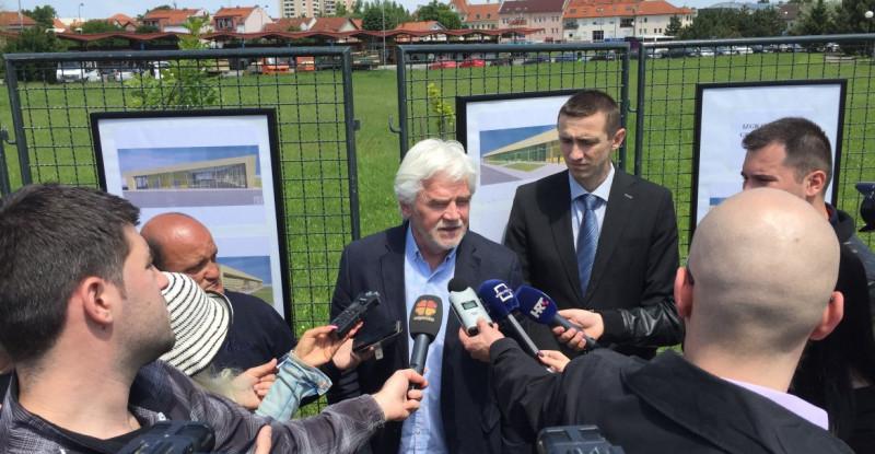 Otvorenje radova na izgradnji nove Gradske tržnice u Vukovaru